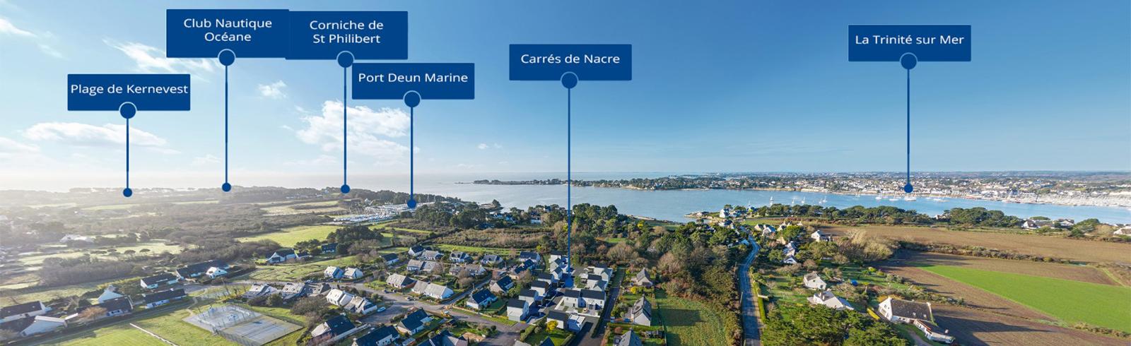 Programmes immobiliers neufs à Auray dans le Morbihan