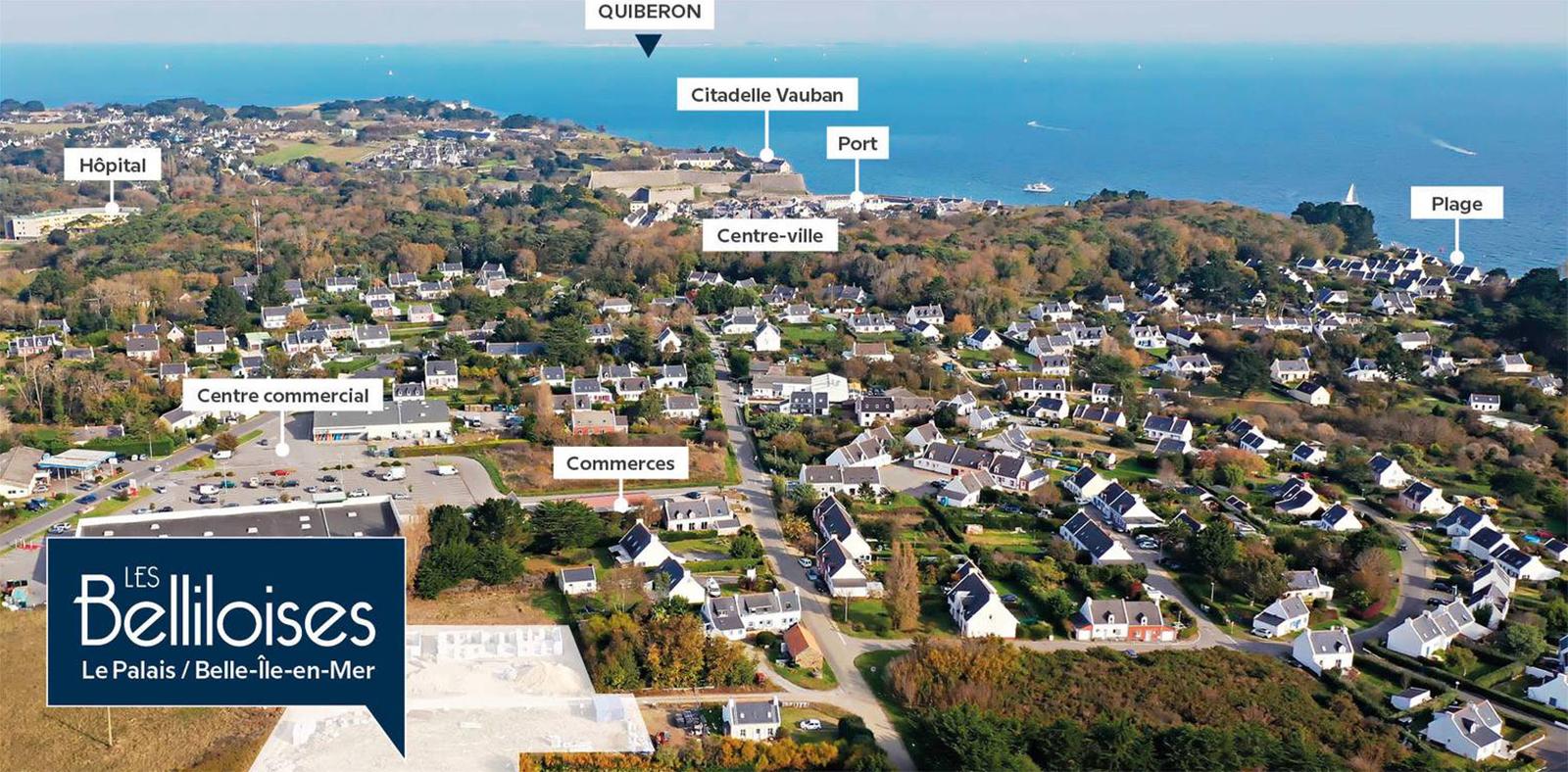 Programmes immobiliers neufs à Belle-Île-en-Mer