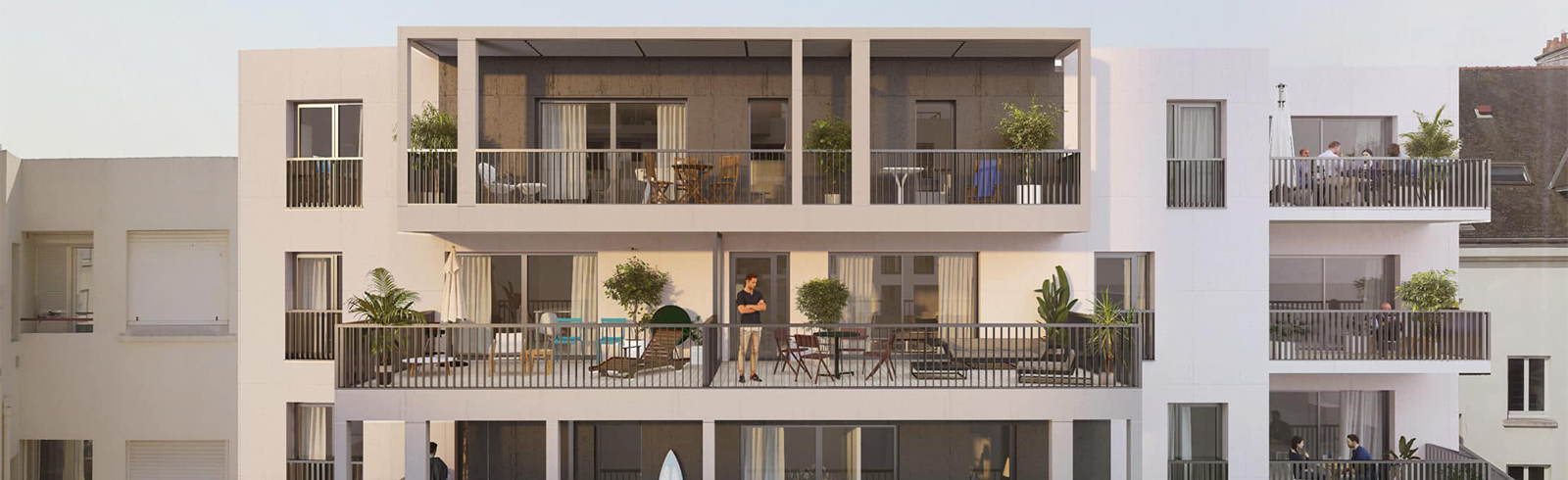 Programmes immobiliers neufs à Lorient dans le Morbihan